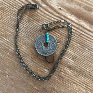 """18"""" coin necklace, like new"""